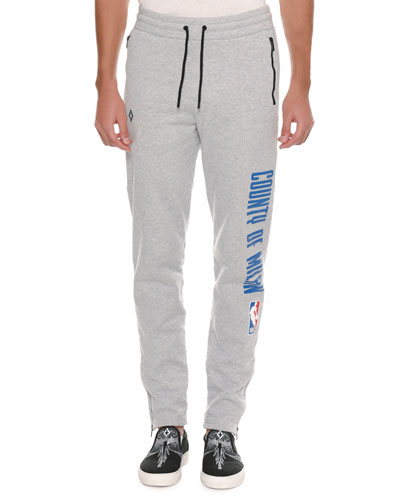 Men's NBA Tapered-Leg Sweatpants