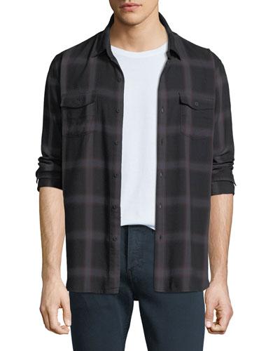 Everett Long-Sleeve Sport Shirt