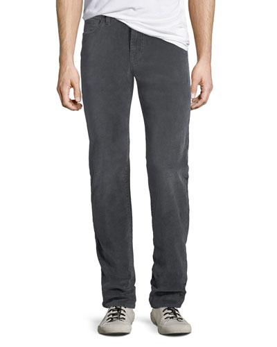 Men's Slimmy 5-Pocket Velvet Pants