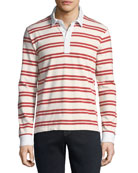 FRAME Men's Striped Rugby Shirt