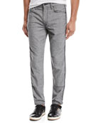 Joe's Jeans Men's Jovian Harper Rivington Herringbone Pants