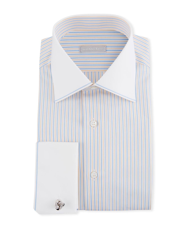 5271bc880a2 Yellow Shirt White Collar And Cuffs - DREAMWORKS