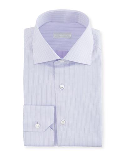 Men's Thin Stripe Dress Shirt