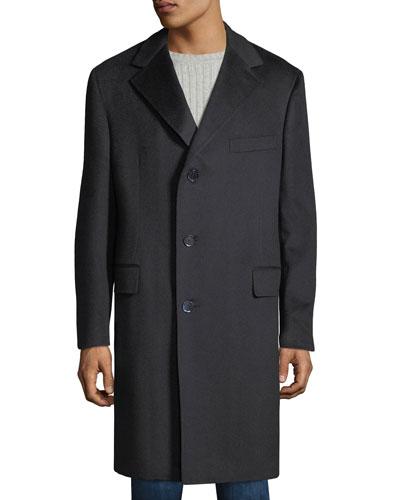 Men's Cashmere Topcoat