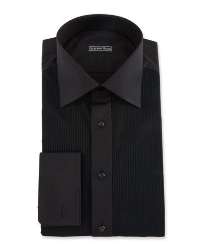 Men's Bib-Front Tuxedo Shirt
