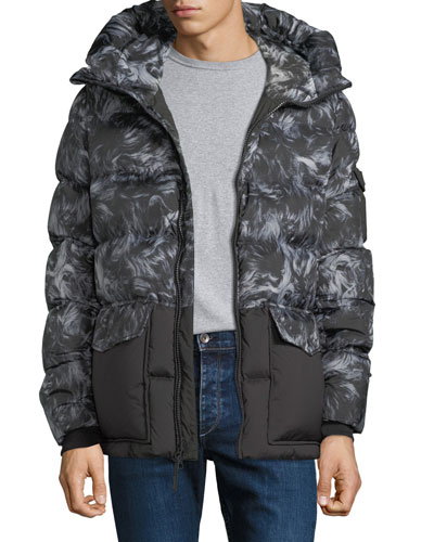 775a21d6adb0a Quilted Feather Coat   Neiman Marcus