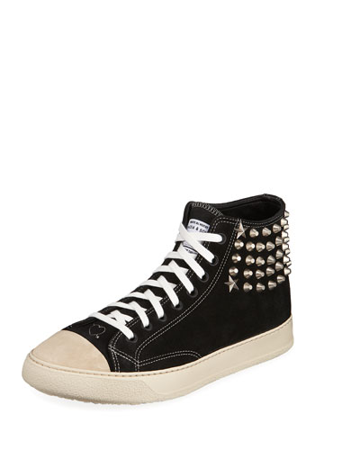 Men's Type 02 Strummer High-Top Sneakers