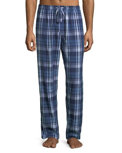 Men's Ranga 31 Plaid Cotton Lounge Pants