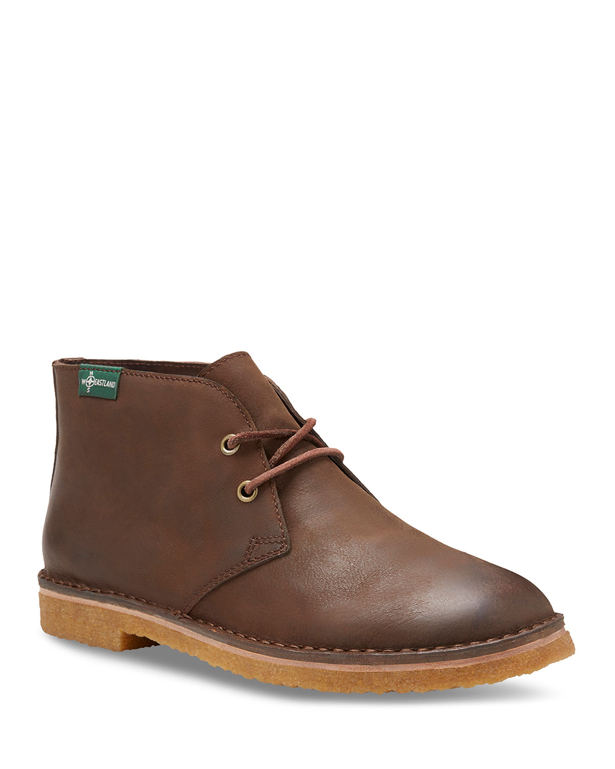 EASTLAND Men'S Hull 1955 Leather Chukka Boots in Brown