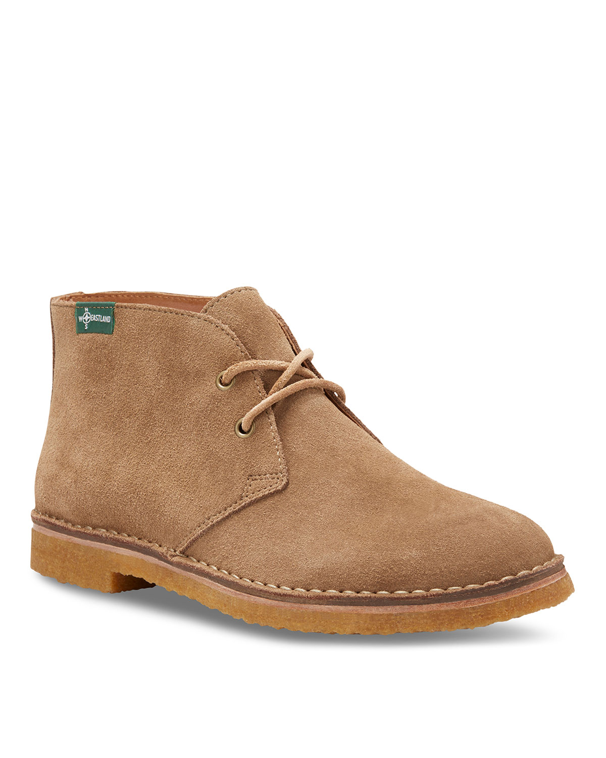 EASTLAND Men'S Hull 1955 Suede Chukka Boots in Light Brown