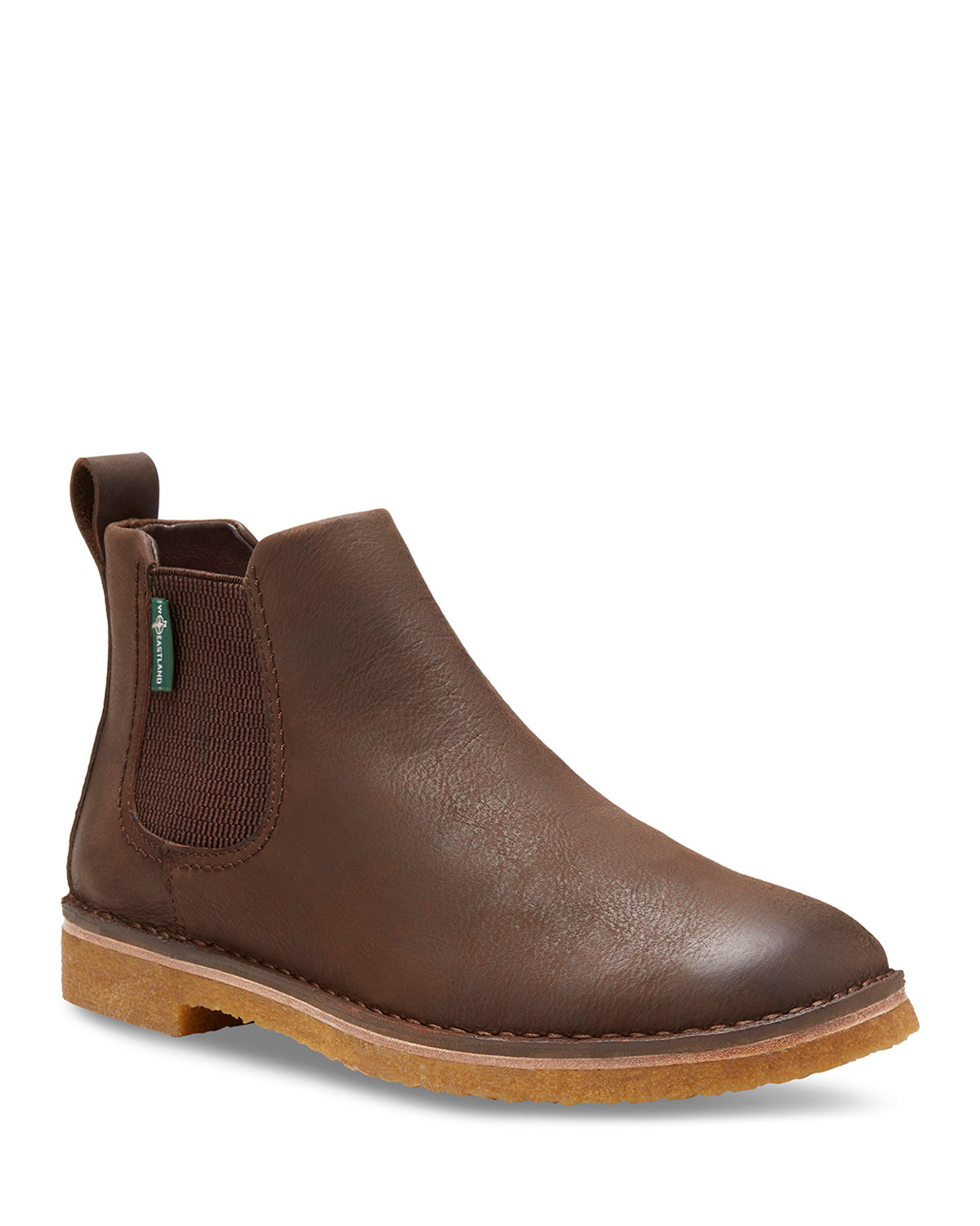 EASTLAND Men'S Edison 1955 Leather Chelsea Boots in Brown