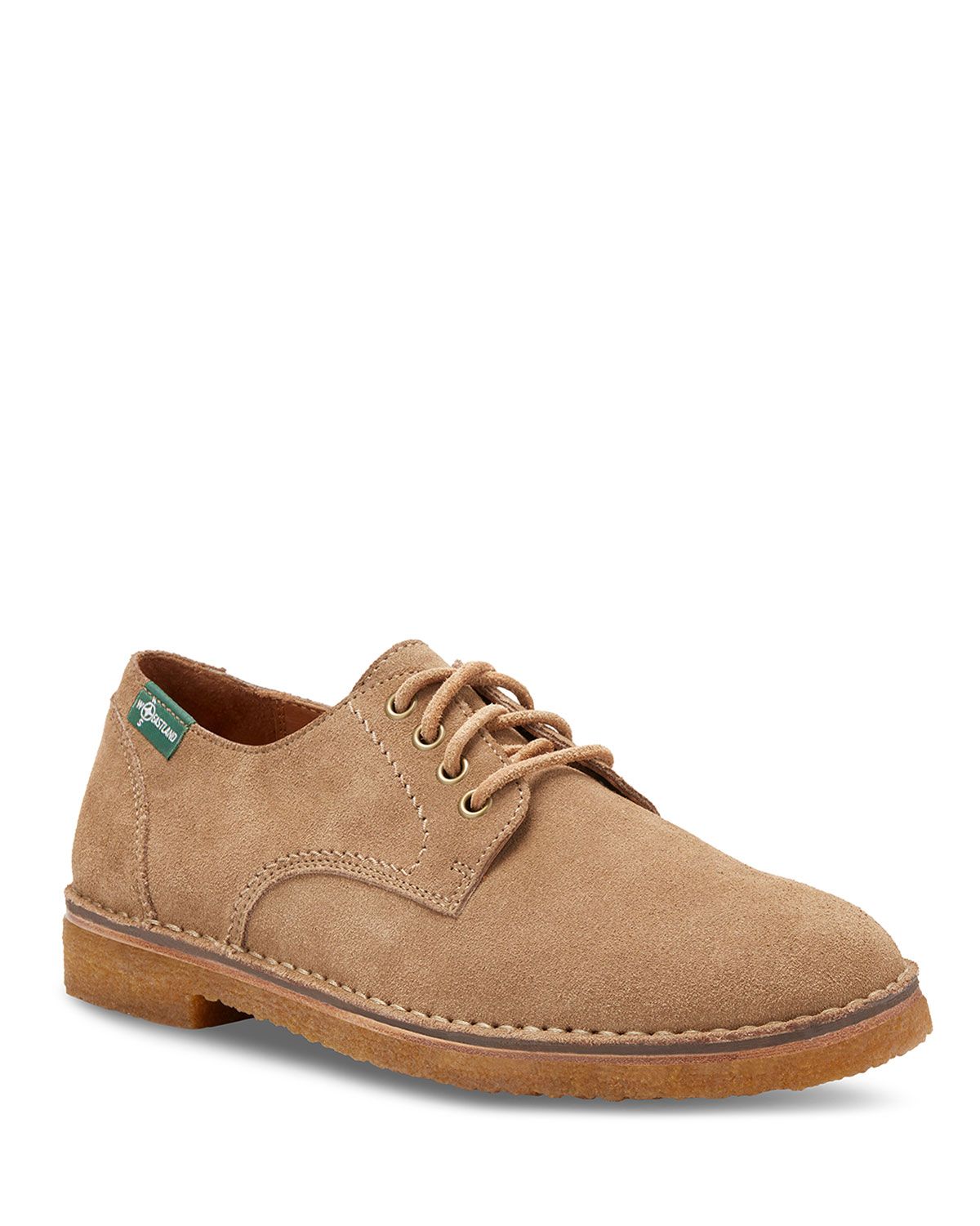 EASTLAND Men'S Morris 1955 Suede Lace-Up Shoes in Light Brown