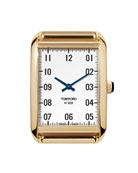 TOM FORD TIMEPIECES 18k Gold Case, White Opaline
