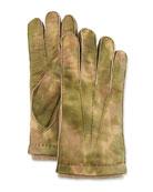 Guanti Giglio Fiorentino Men's Three-Cord Lamb Leather Gloves