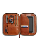 Shinola Men's Leather Tech Portfolio Case
