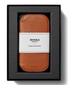 Shinola Men's Travel Watch Case Gift Box