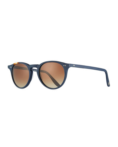 5d941bd4525 Quick Look. Peter Millar · The Excursionist Light Round Sunglasses -  Polarized. Available in Brown Pattern