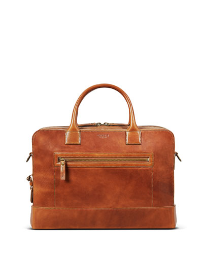 Men's Bedrock Embossed Harness Briefcase - 15