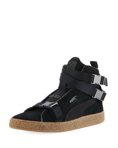 abc47974c1d4 Black High Top Sneaker