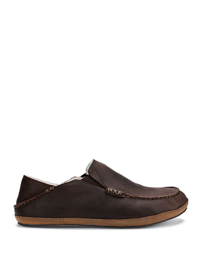 Men's Moloa Shearling-Lined Slippers