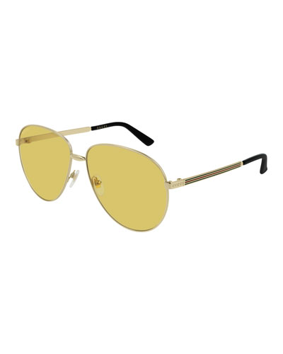 cfcd39832e Quick Look. Gucci · Unisex Universal Fit Round Metal Sunglasses