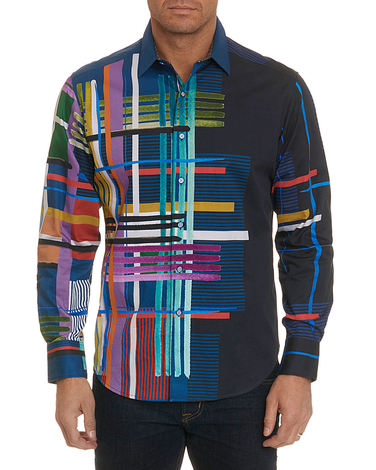 Robinson Graphic Sport Shirt