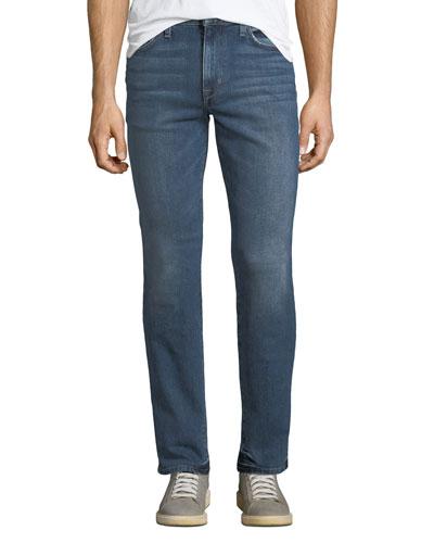 Men's Brixton Slim-Straight Jeans, Medium Blue