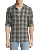 John Varvatos Star USA Men's Reversible Sport Shirt,