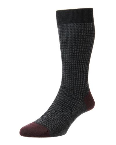 Men's Hatherley Houndstooth Socks