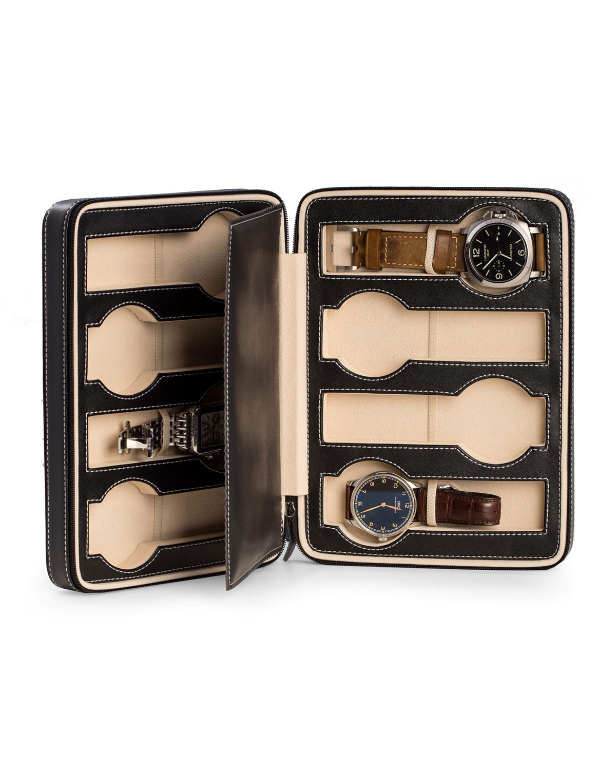 Leather Travel Watch Case