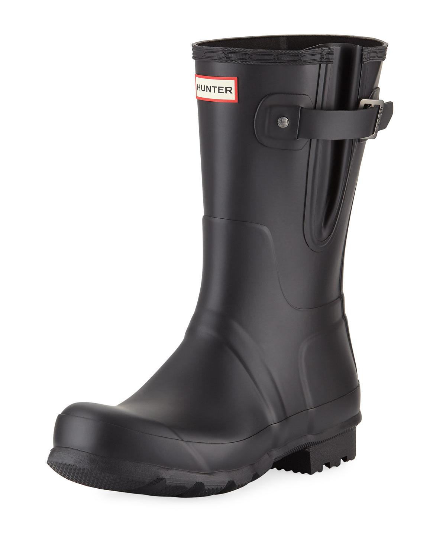 Men's Original Side-Adjustable Short Boot, Black