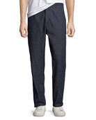 Levi's Made & Crafted Men's Tapered Silk-Blend Trouser