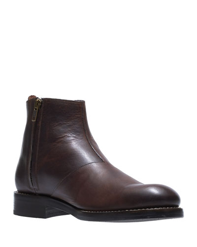 Men's Montague Leather Chelsea Boots, Brown