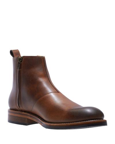 Men's Montague Leather Chelsea Boots, Tan