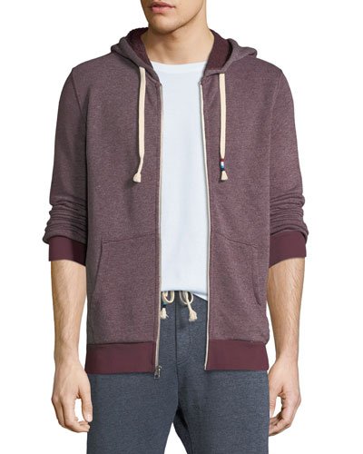 Men's Roma Heathered Zip-Front Hoodie