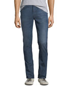 Hudson Men's Vaughn Ankle Zip Skinny Jeans