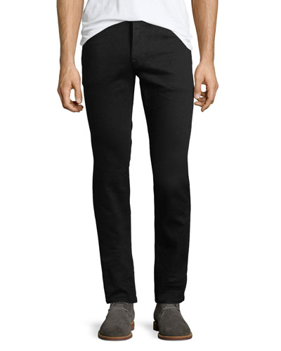 Men's Blake Slim-Straight Jeans, Black