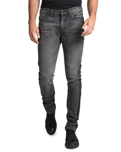 Men's Le Sabre Multi-Wash Side-Stripe Tapered Jeans