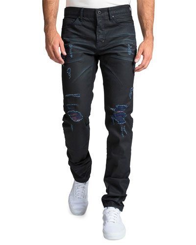 Men's Le Sabre Repaired-Distressed Jeans