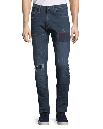 Men's Le Sabre Comfort-Stretch Tapered Jeans
