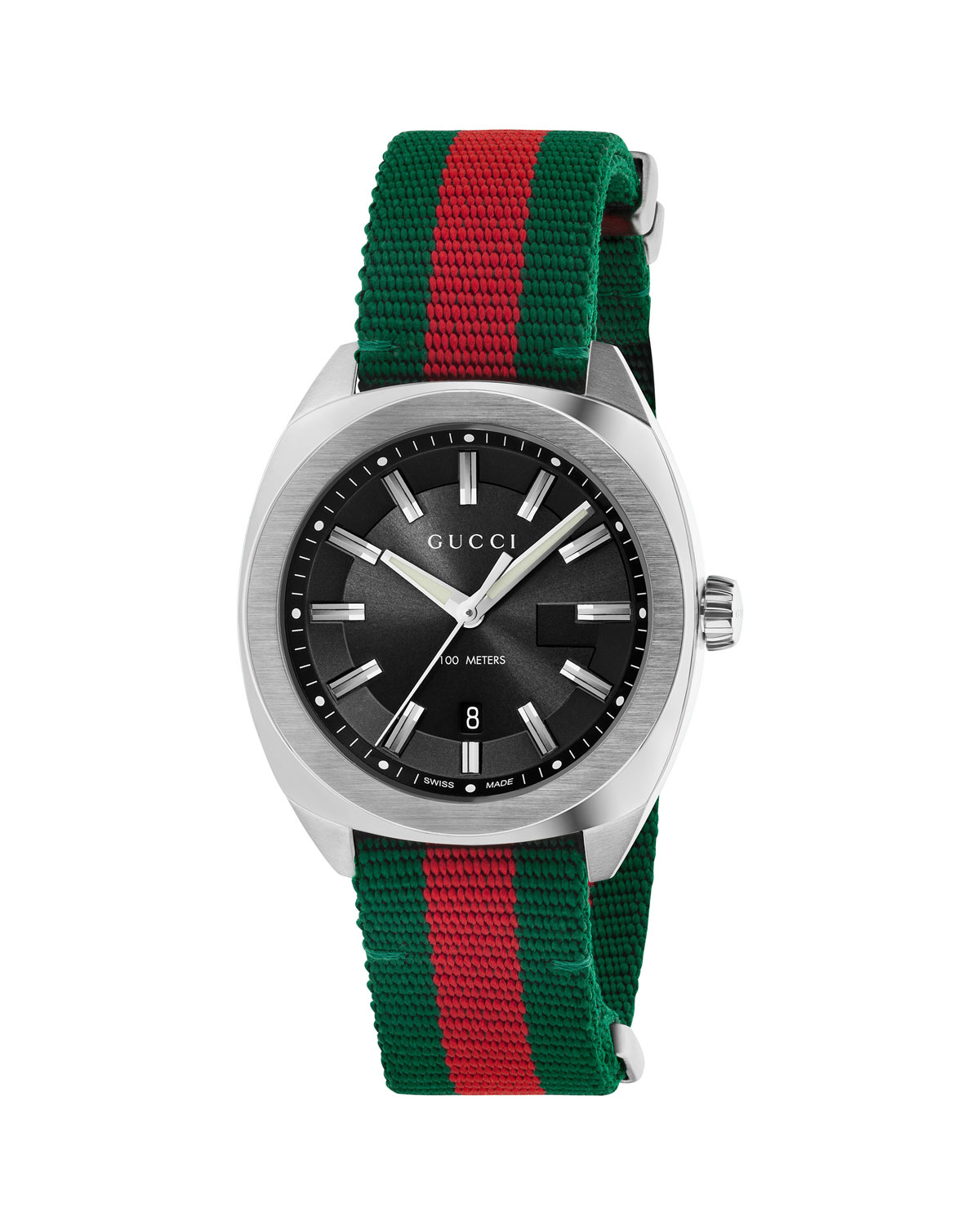 Men's Watch with Signature Web Strap