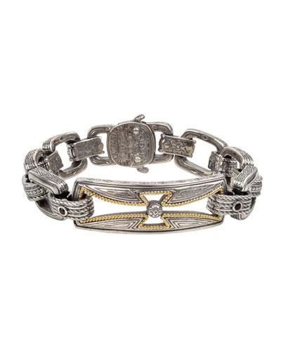 Men's Stavros Cross-Cutout Bracelet