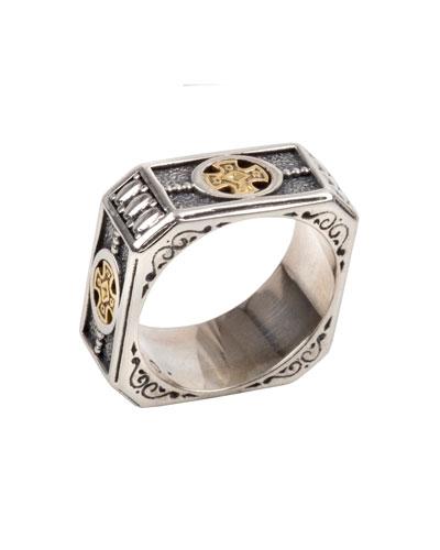 Men's Stavros Square Band Ring