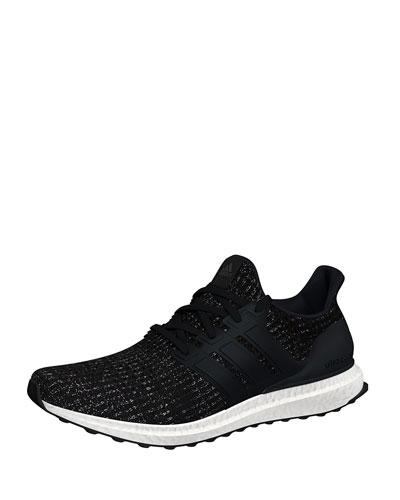 Men's Ultraboost Running Sneakers, White/Black