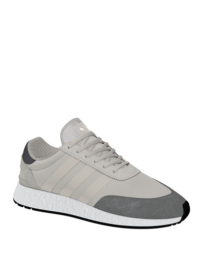 Men's I-5923 Trainer Sneakers, White/Gray