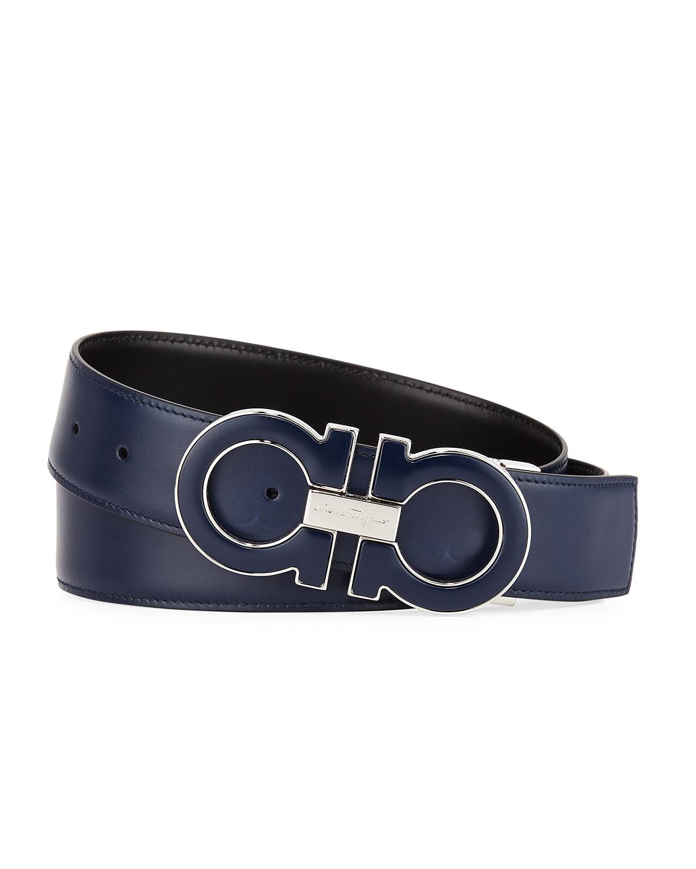 Men's Smooth Calf Reversible Leather Belt