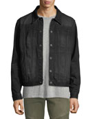 Hudson Men's Donovan Distressed Jean Jacket