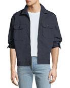 AG Adriano Goldschmied Men's Axle Shop Twill Jacket