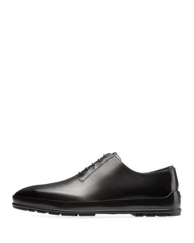 Men's Redison Leather Oxford Shoe, Black