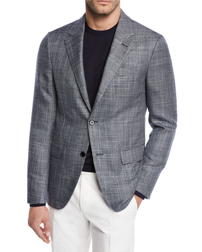 Men's Cashmere/Silk Tic Sport Coat